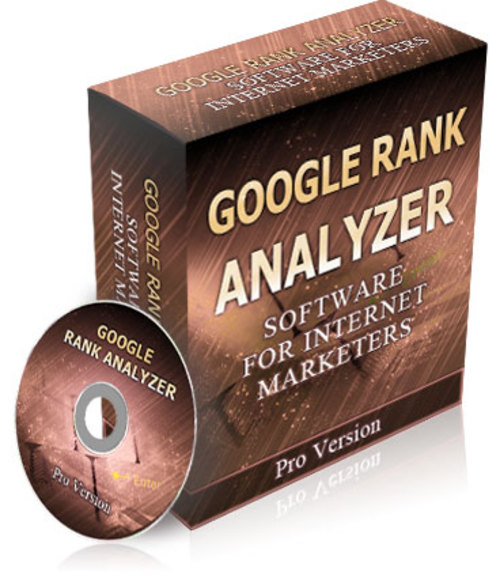 Product picture Google Rank Analyzer + Bonus(E-book User Guide)