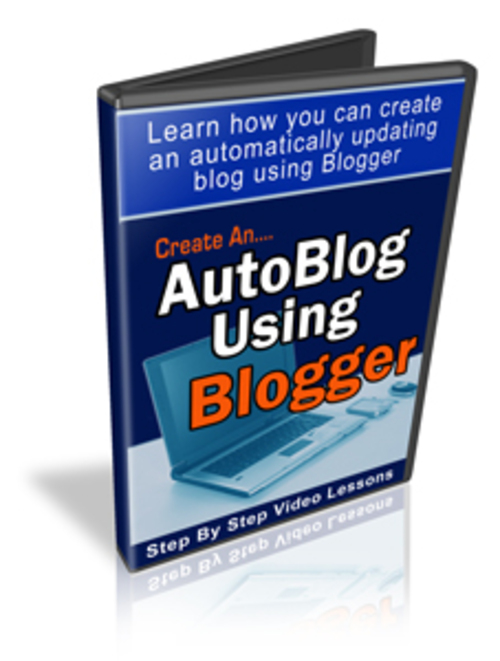 Product picture Create An Autoblog Using Blogger