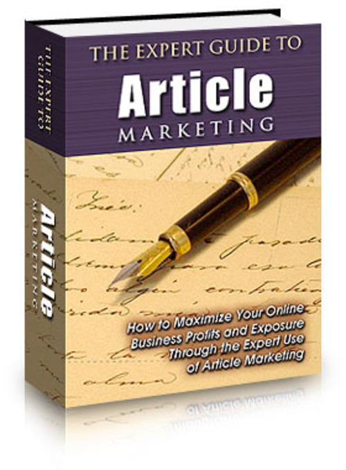 Product picture The Expert Guide to Article Marketing